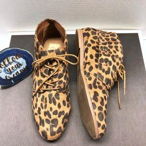 Dolce Vita Leopard Booties